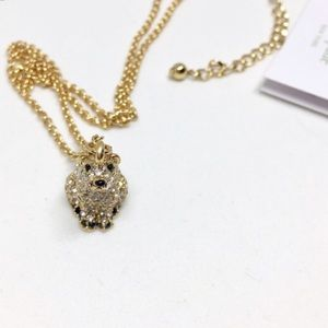 Kate Spade polar bear necklace
